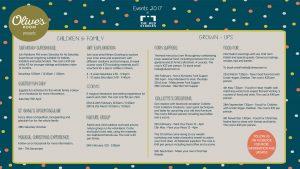 olives events facebook layout